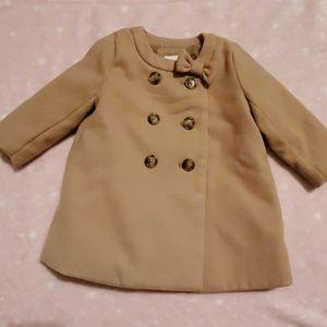 Baby Gap Bow Coat